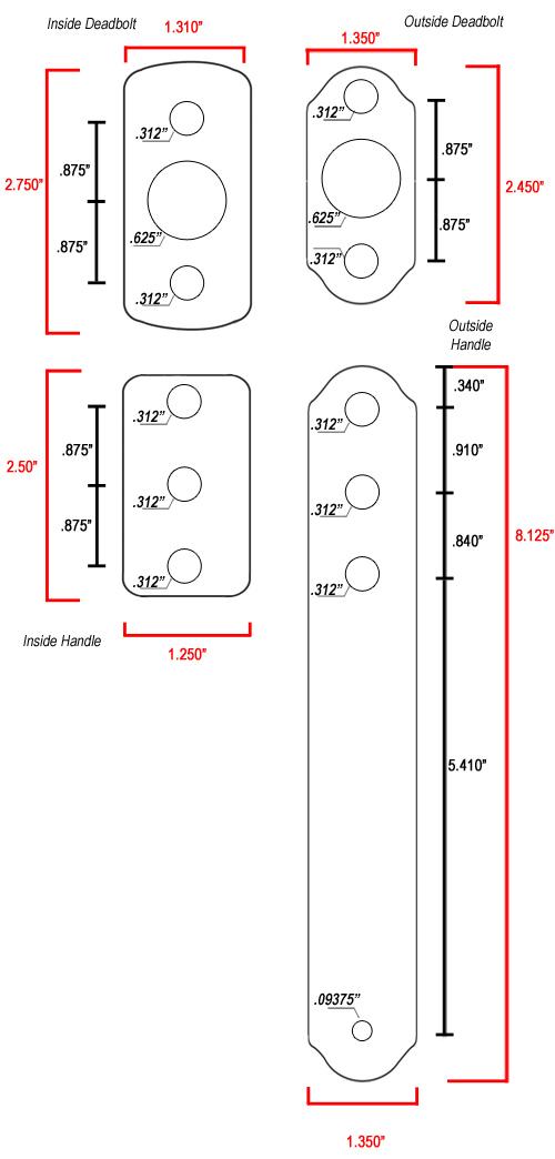 Storm Door Hardware Pull Handle Ir Tsd207 Orb Free
